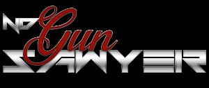 ND Gun Sawyer quarter horse logo